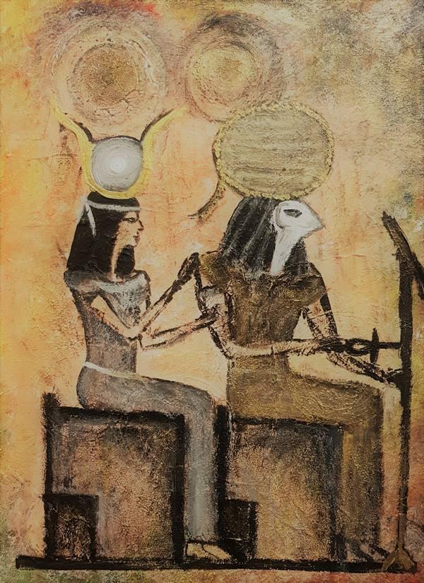 Iset and Osiris